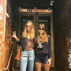 """firstaidkit Radio interviews and sessions kind of afternoon in Melbourne …  """