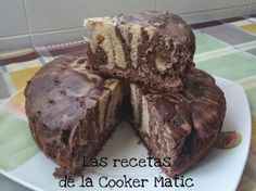 Las Recetas de la Cooker Matic: Bizcocho cebra