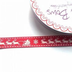 Santa and Sleigh Red £0.80