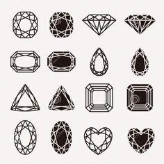 gemstone tattoos - Google Search