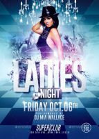 Ladies Night Sexy Party | Flyer Template by RomeCreation