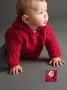 Hooded Coat Baby Boy Knits Toddler Knit Coat by TanyasBunnyTots, $27.50