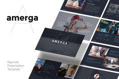 AMERGA - Keynote Template @creativework247