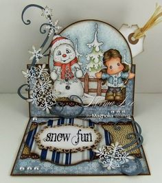 From My Craft Room: Snow Fun - Magnolia-licious 'Winter Fun with Doohickey'