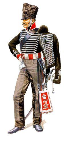 """☠Prussia:  1. Leib Husaren Regiment """"Totenkopfhusaren"""" [North American Cavalry]"""