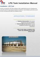 LPG Tank Installation Manual