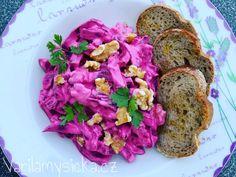 Salát z řepy Meatloaf, Cabbage, Tacos, Low Carb, Vegetables, Ethnic Recipes, Food, Diet, Essen
