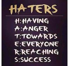 Next time you want to blast someone for all their hard work because you don't like the results or because you're jealous of their success, remember this acronym!  I know I am challenged to consider carefully what I say about others.