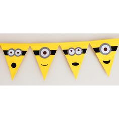 Minion Inspired Fabric- Don't forget Yellow and Blue personalized napkins to match your theme! #minion #party www.napkinspersonalized.com