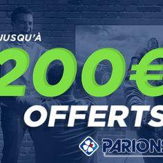 ParionsSport : bonus exceptionnel jusqu'à 200€ pour les nouveaux inscrits