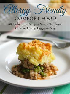 allergy friendly comfort food