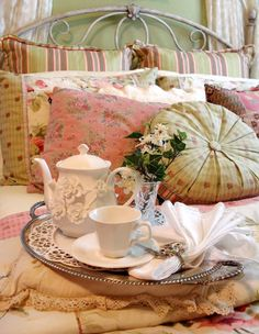 A Tea Tray in the Tea Rose Bedroom (1) From: Happy To Design, please visit