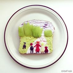 Playful Recreations of Classic Paintings on Toast - My Modern Metropolis