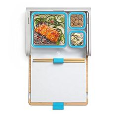 Amazon.com: Prepd Pack Lunchbox with Modular Food Storage Containers and Chopsticks Set (Blue): Kitchen & Dining