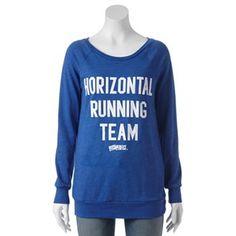 Jerry Leigh Perfect Pitch ''Horizontal Running Team'' Sweatshirt