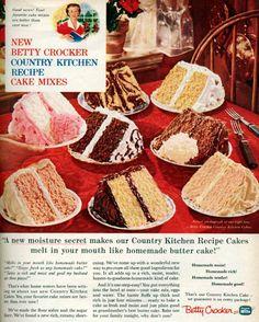Deliciously Retro: The Layer Cake