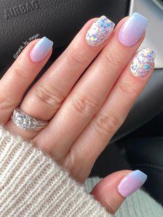 Hair and beauty dip powder nails square acrylic nails nail art Square Acrylic Nails, Best Acrylic Nails, Gold Nails, Pink Nails, Pastel Nails, Glitter Nails, Glitter Makeup, Black Nails, Acrylic Ombre Nails