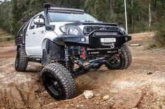 Toyota Hilux, 4x4 Trucks, Rigs, Offroad, Monster Trucks, Australia, Vehicles, Sweet, Instagram