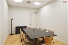Vista geral sala de reuniões Fotografia: José Lobo