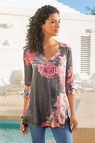 gorgeous neck, length and print!