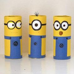 Fun DIY Craft Ideas – 52 Pics. These ones are too cute. You can make them from toilet paper rolls.