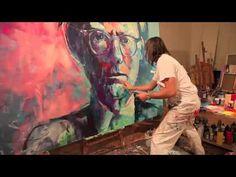 Peinture VOKA -   Andy Warhol -Spontaneous Realism