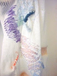 Womenswear Project - Knit and stitch sample - Mary- Emma Brooks