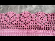 Crochet Blanket Edging, Crochet Lace Edging, Crochet Borders, Crochet Stitches Patterns, Crochet Patterns Amigurumi, Crochet Doilies, Crochet Flowers, Stitch Patterns, Crochet Collar