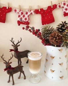 Cosy deers coffee jumpers