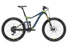 Giant Trance Radically hydroformed with the latest lightweight co-pivot suspension design. Giant Trance, Mountain Bicycle, Mountain Biking, Bicycle Warehouse, Bikes Direct, Suspension Design, Full Suspension, Fixed Gear Bicycle, Buy Bike
