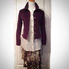 Plum Colored Jacket