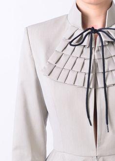 On Sale-Aurora jacket-Size 42 Source by Dress Western Wear For Women, Women Wear, Moda Peru, Hijab Style, Sleeves Designs For Dresses, Collar Designs, Blazer Dress, Coat Dress, Long Jackets