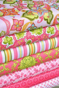 Bohemian Festival in pink by Riley Blake Designs