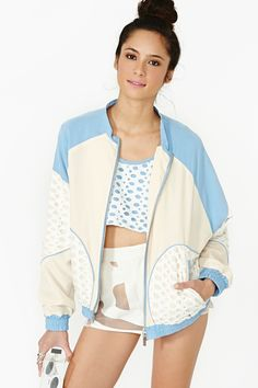 Outer Limits Bomber Jacket in Lookbooks Nasty Gal Collection Spring 2013 at Nasty Gal
