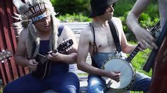 "Tagged: Iron Maiden | This Bluegrass Band Covers Iron Maiden's ""The Trooper"", And It's Actually Pretty Awesomehttp://societyofrock.com/stevenseagulls-the-trooper"