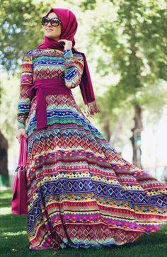 Bayramlık tesettür elbise modelleri - http://www.modelleri.mobi/bayramlik-tesettur-elbise-modelleri/