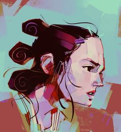 Rey-A-Day project by illustrator Michael Firman.