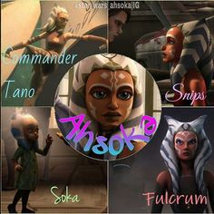 Ahsoka, you have inspired me so much over the last years. Thank you for giving me a voice and how to deal with everything