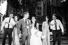Portland wedding group photo