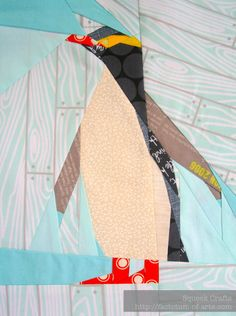 Yellow-eyed penguin pattern from Juliet @ Tartan Kiwi