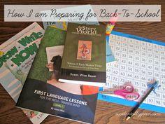 How I'm Preparing for Back-To-School {accidentallygreen.com} Starting Kindergarten, Back To School, Entering School, Back To College