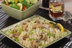 Elegant and Easy Lemon Rice with Vegetables - Kidney-Friendly Recipes - DaVita