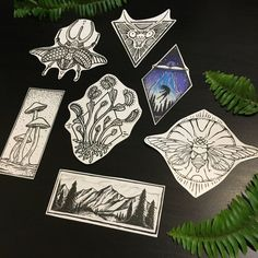 $25 Temporary Tattoo Grab Bag! A spectacular mixed collection of NatureTats most popular designs! You get about 6 - 15 temporary tattoo designs, depending on if you want bigger tats, smaller tats, or a fair mix of sizes. >> IF YOU WANT << When youre checking out, feel free to specify your style - floral, insects, black line designs, fungi, geometric, animals etc! Ill send tats that youll love. * [no coupons on grab bags. thank you. :) ] * >> FREE SHIPPING EVERYWHERE!