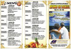 Menu Del Ayuno De Daniel   ... DE COLOMBIA. Asesoria Eje Cafetero: AYUNO DE DANIEL 1 semestre 2008