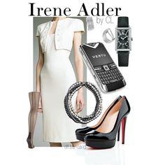 """""""Irene Adler - Sherlock (BBC)"""" by chelsealauren10 on Polyvore"""