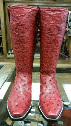 Cusrom Cowboy Boots courtesy of ML Leddy's.