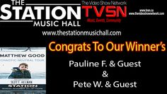 #theshowsarnia #thestationmusichall #matthewgood   Conratulations to our winner's to go see Matthew Good tonight at 'The Station Music Hall' Still time to get some tickets at Picker's Alley or Cheeky Monkey! See you there! www.TVSN.ca