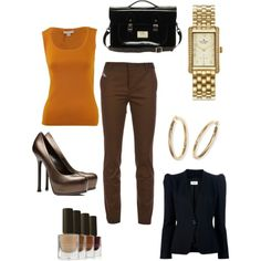 """""""Fall work attire"""" by mollylsanders on Polyvore"""