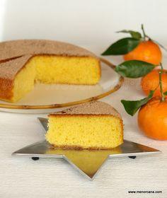 Bizcocho de zumo de mandarina (sin huevos, sin lacteos)