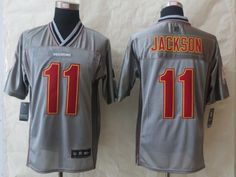 Washington Red Skins 11 Jackson Grey Vapor 2014 New Nike Elite Jerseys